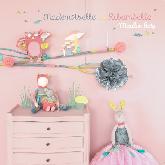 Mademoiselle et ribambelle moulin roty for Moulin roty chambre