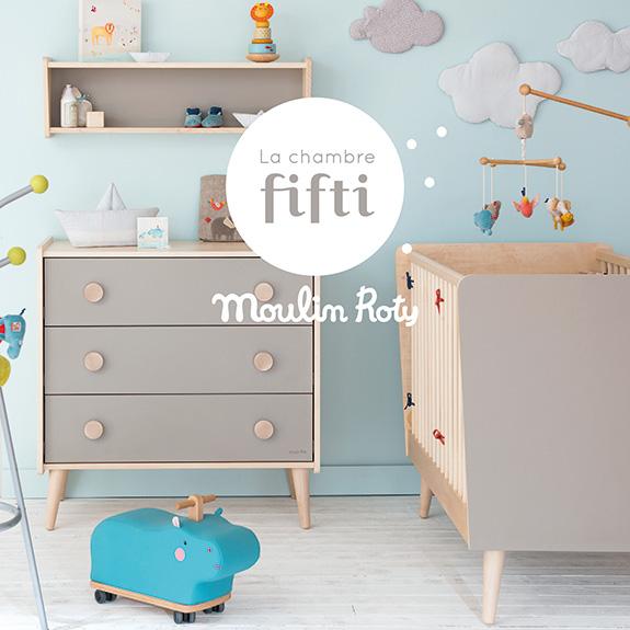 La chambre fifti moulin roty for Les accessoire chambre bebe oran