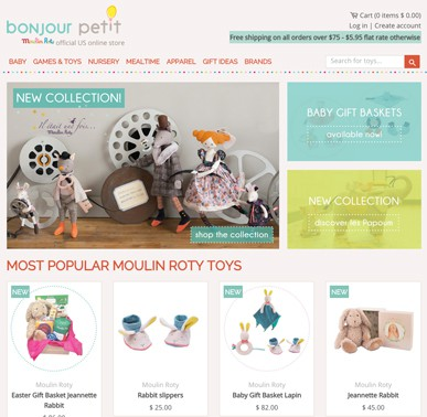 Souvent Bonjour Petit (USA) - Moulin Roty DD56