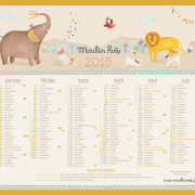 Calendrier Moulin Roty 2015