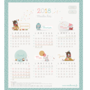 Calendrier Moulin Roty 2018