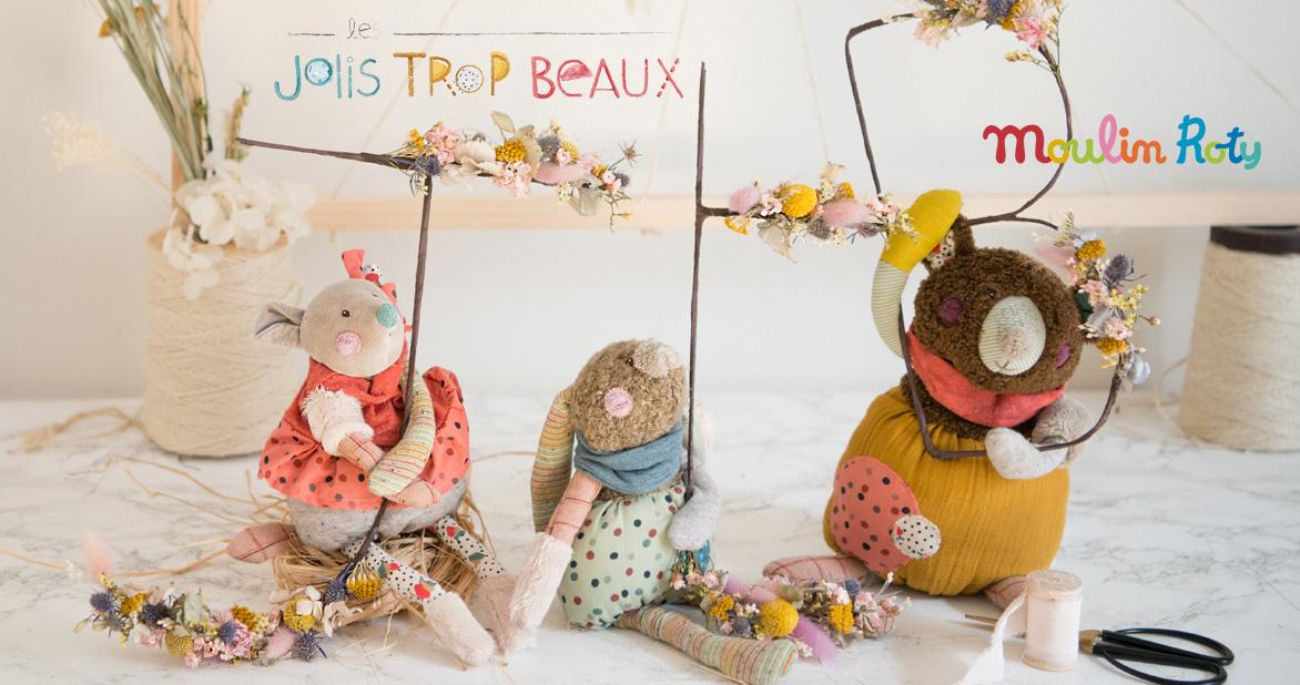 Moulin Roty Assortiment de 10 poupées Le Voyage d'Olga (2