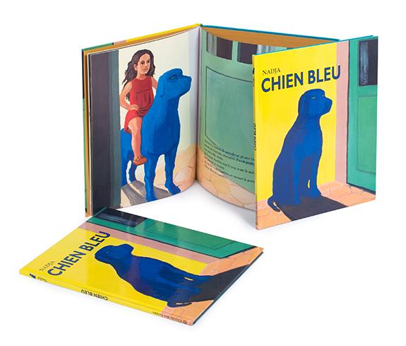 livre-chien-bleu